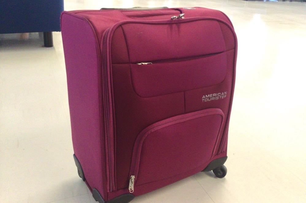 ソフトタイプ(布)のスーツケース