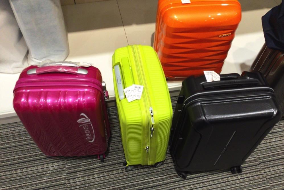 いろんなスーツケースがあるよ!