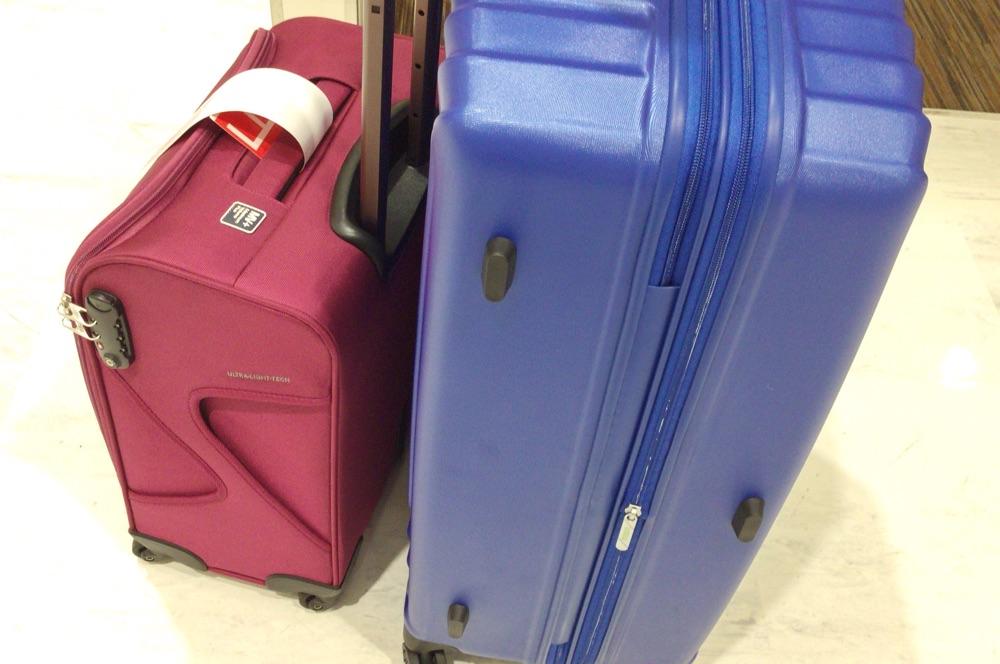 最終的に選んだ2つのスーツケース