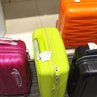スーツケースを選ぶ基準は? アメリカンツーリスター製がオススメだよ