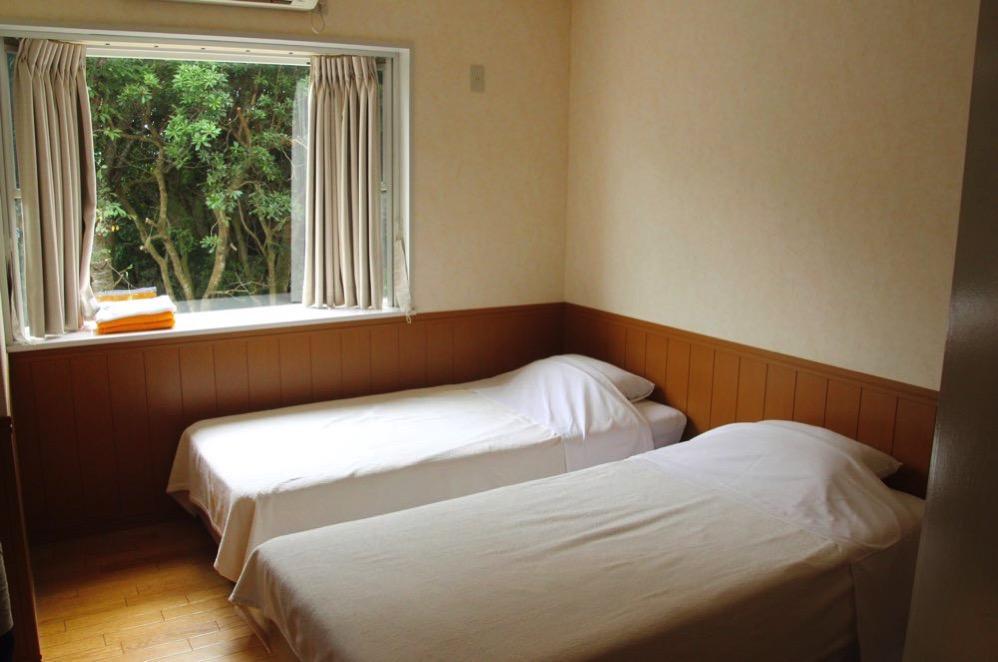 ベッドは2つある