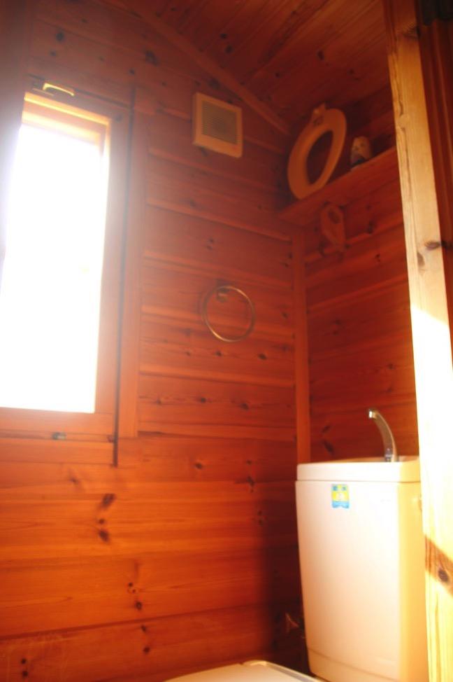 コテージのトイレです