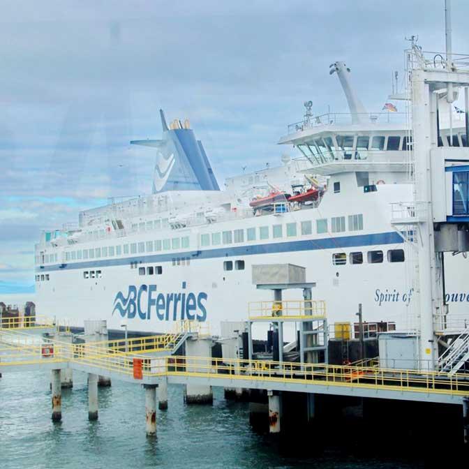 [カナダ]バンクーバー〜ビクトリア間のフェリー「BC Ferries」に乗ってきた!