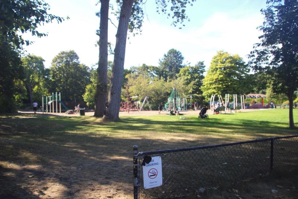 Beacon Hill Parkの子どもの遊び場