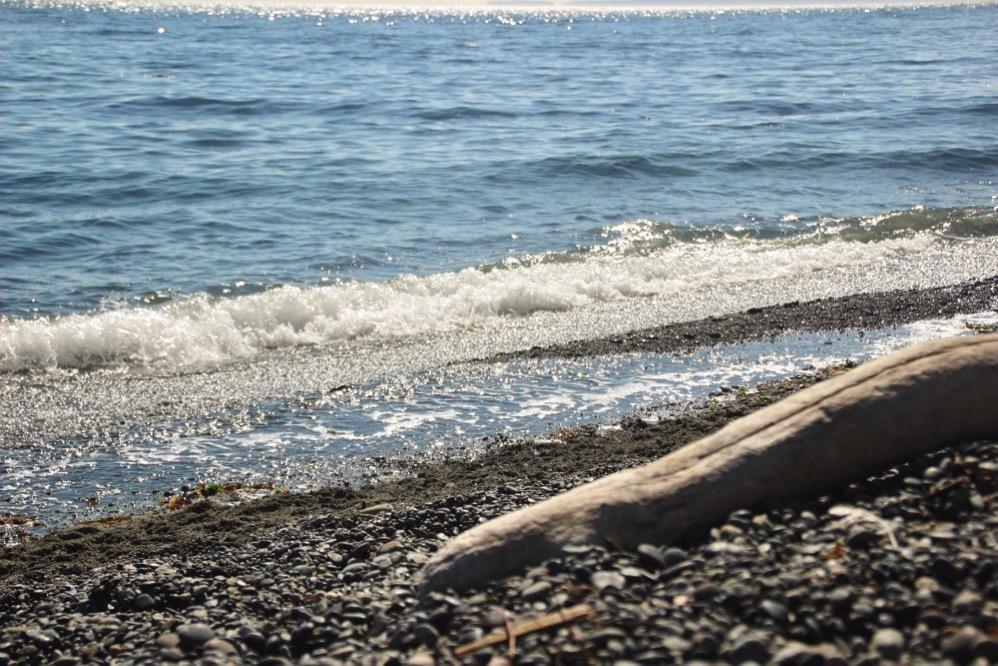 海です! ざぱーん