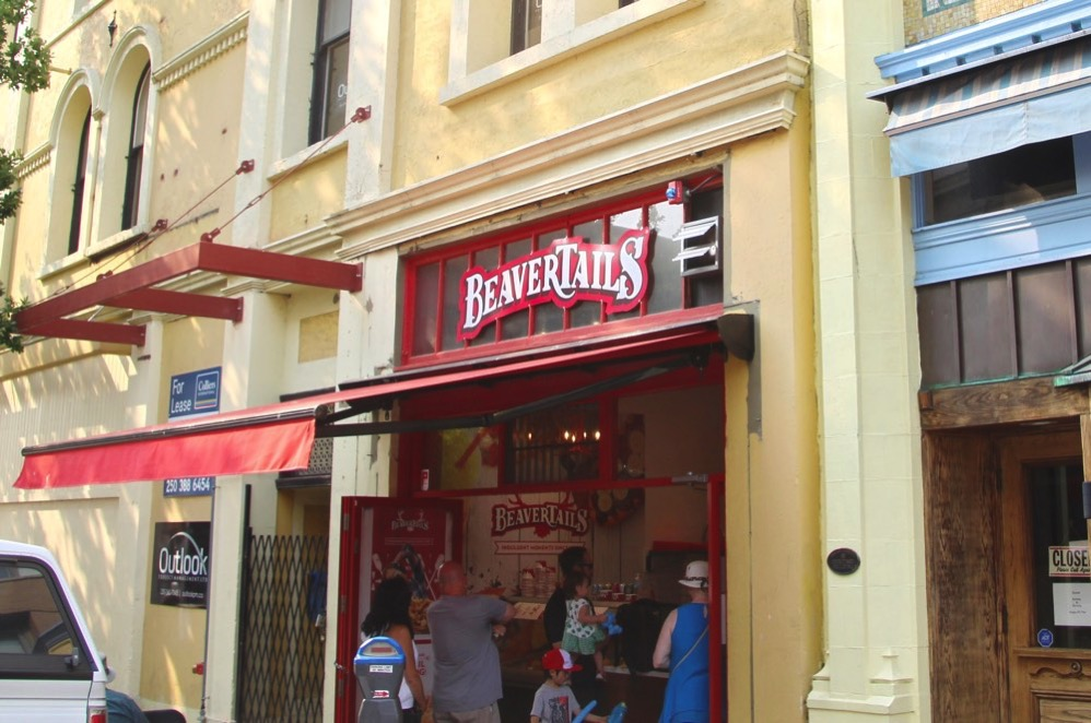Beavertailsのお店