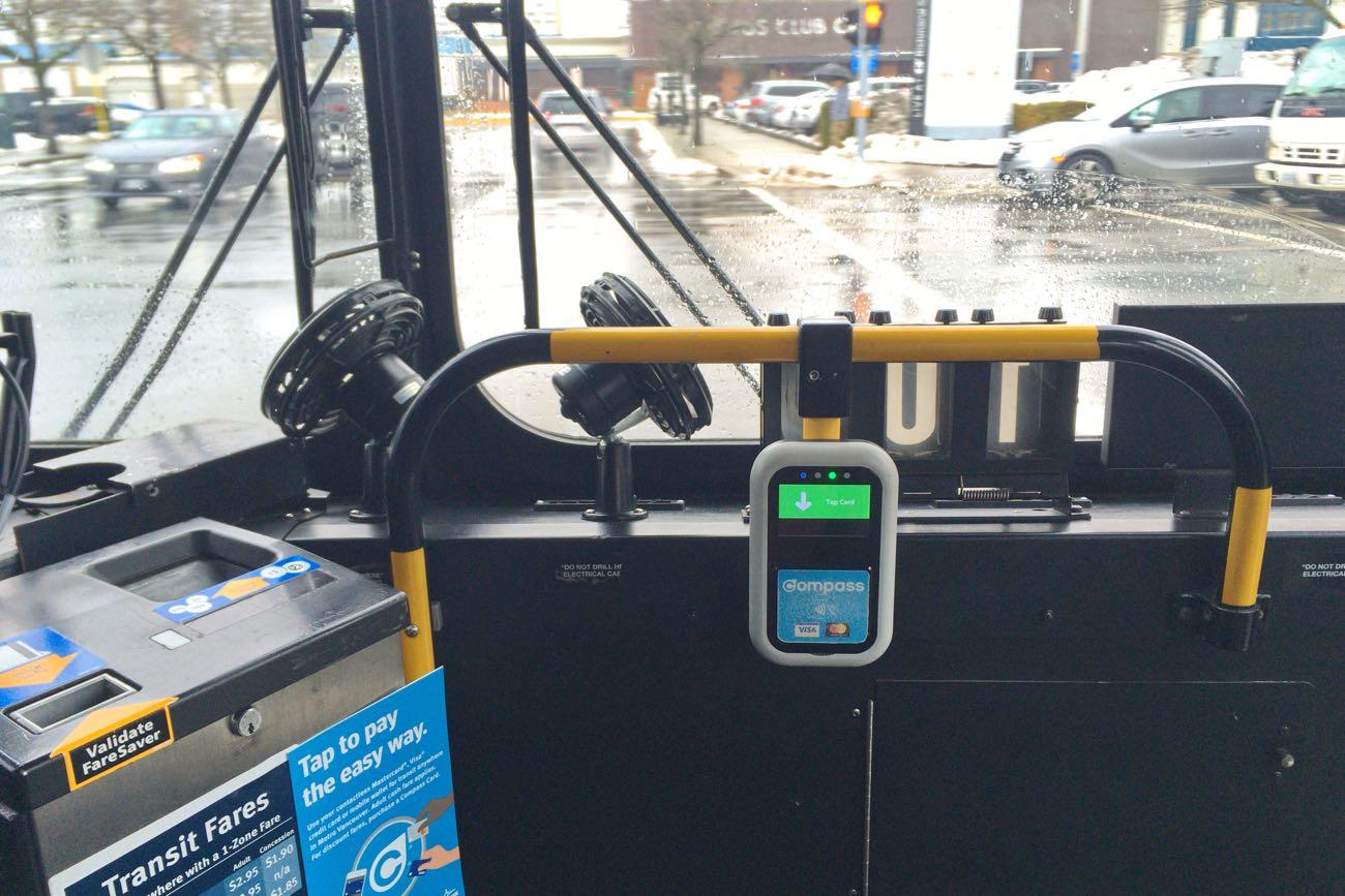 バスに入ってすぐのところにあります