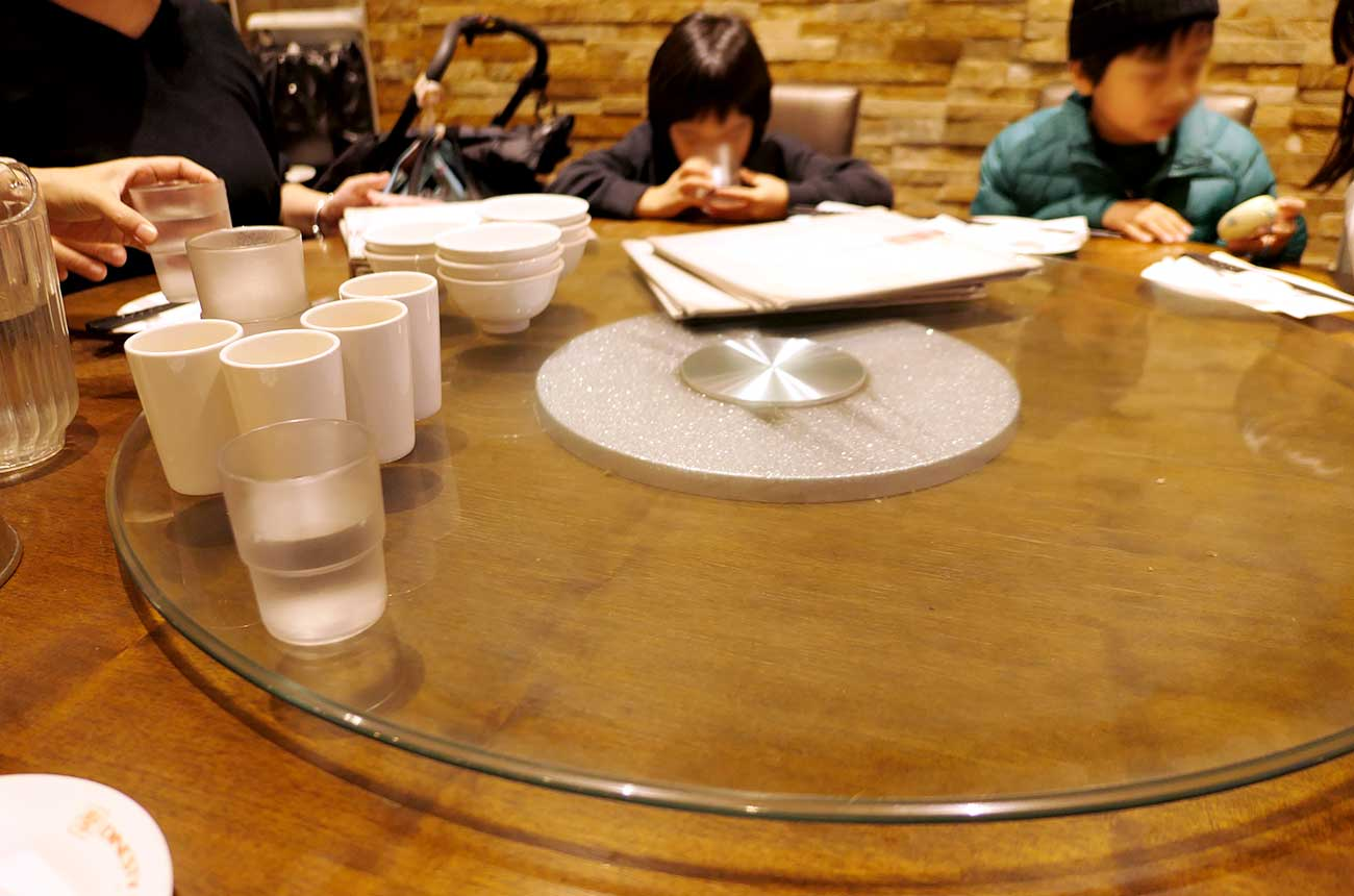 Dinestyのテーブル