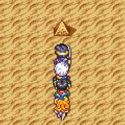 スマホ版ドラクエ3日記(4): ピラミッドで魔法のカギと黄金の爪ゲット!