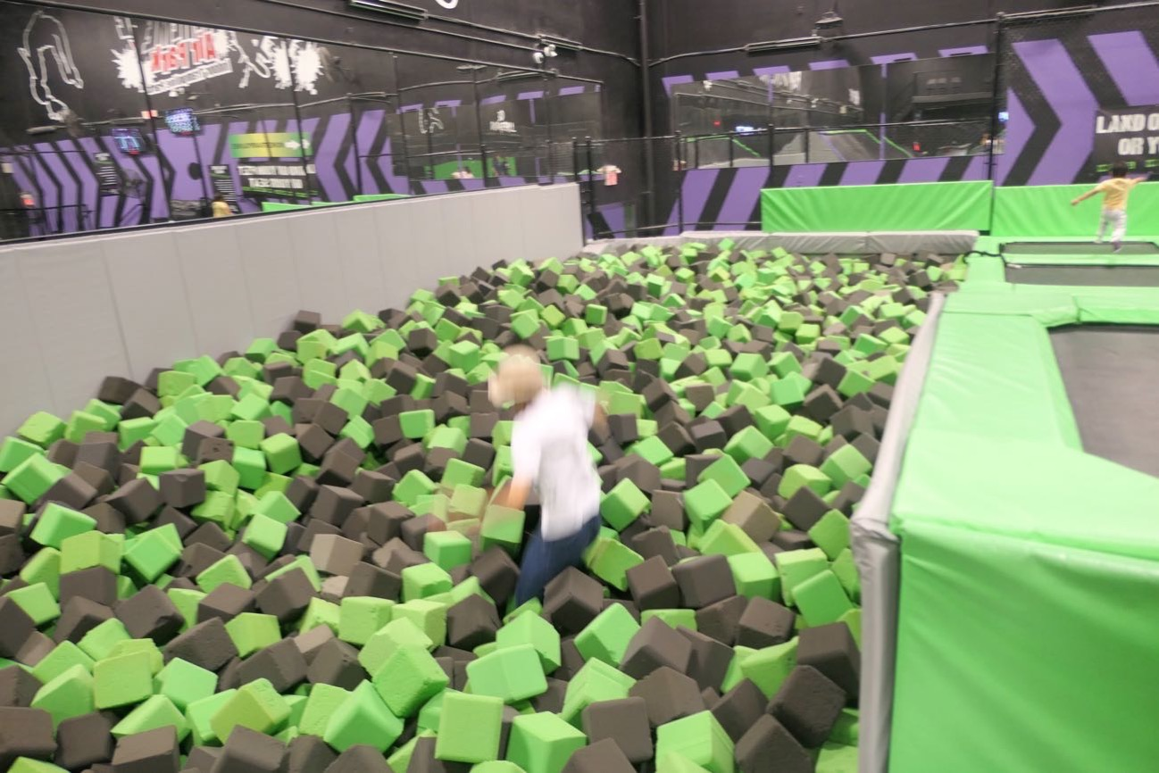ジャンプで飛び込む!