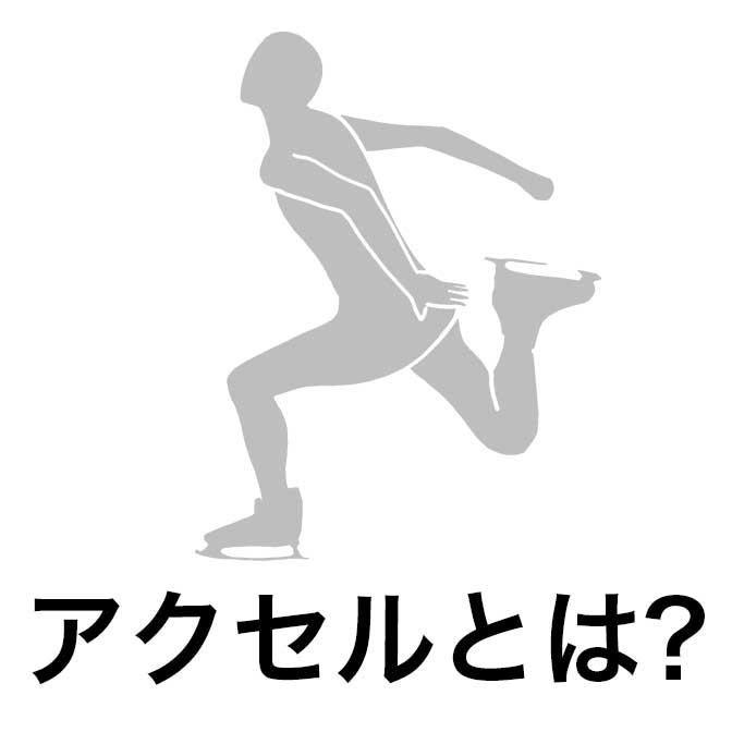 [ フィギュアスケート ] アクセルジャンプってどんなジャンプ?「半回転」がキーワードです!