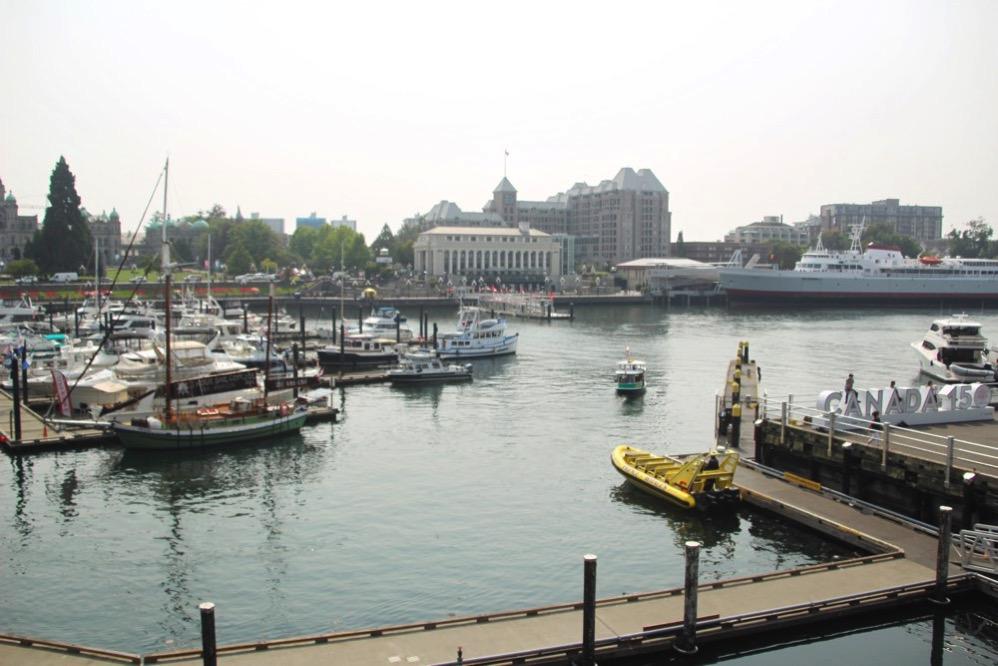 「Inner(内側」の「harbour(港)」と呼ばれるのがよくわかる