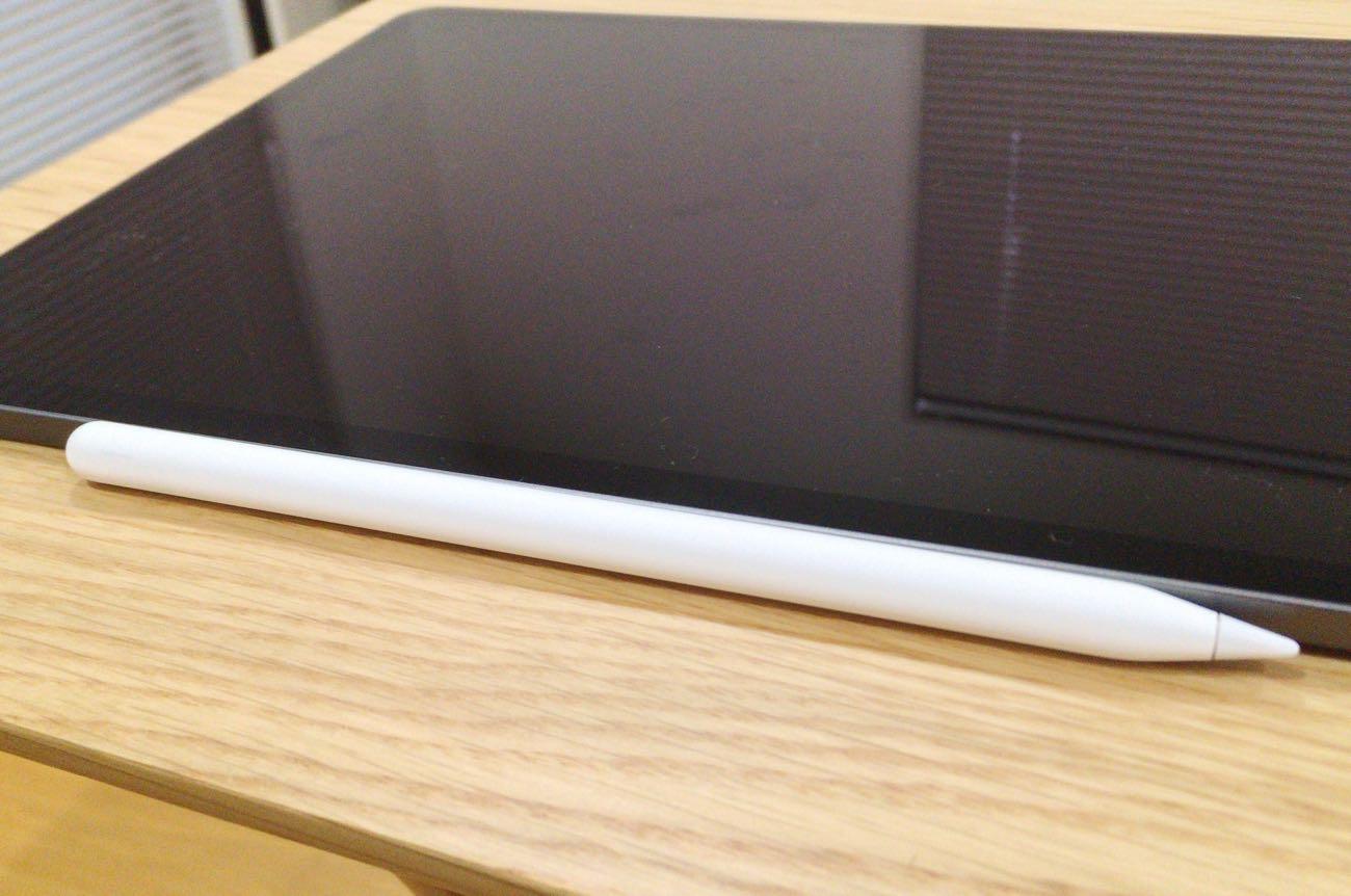 iPad Pro にくっつけたApple Pencil 第2世代