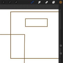 [裏ワザ]iPadのお絵描きアプリ(Procreateとか)で直線を引く方法!