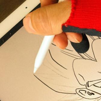 iPadにタッチペンで絵を描く! そのときにやっておくと良い設定など