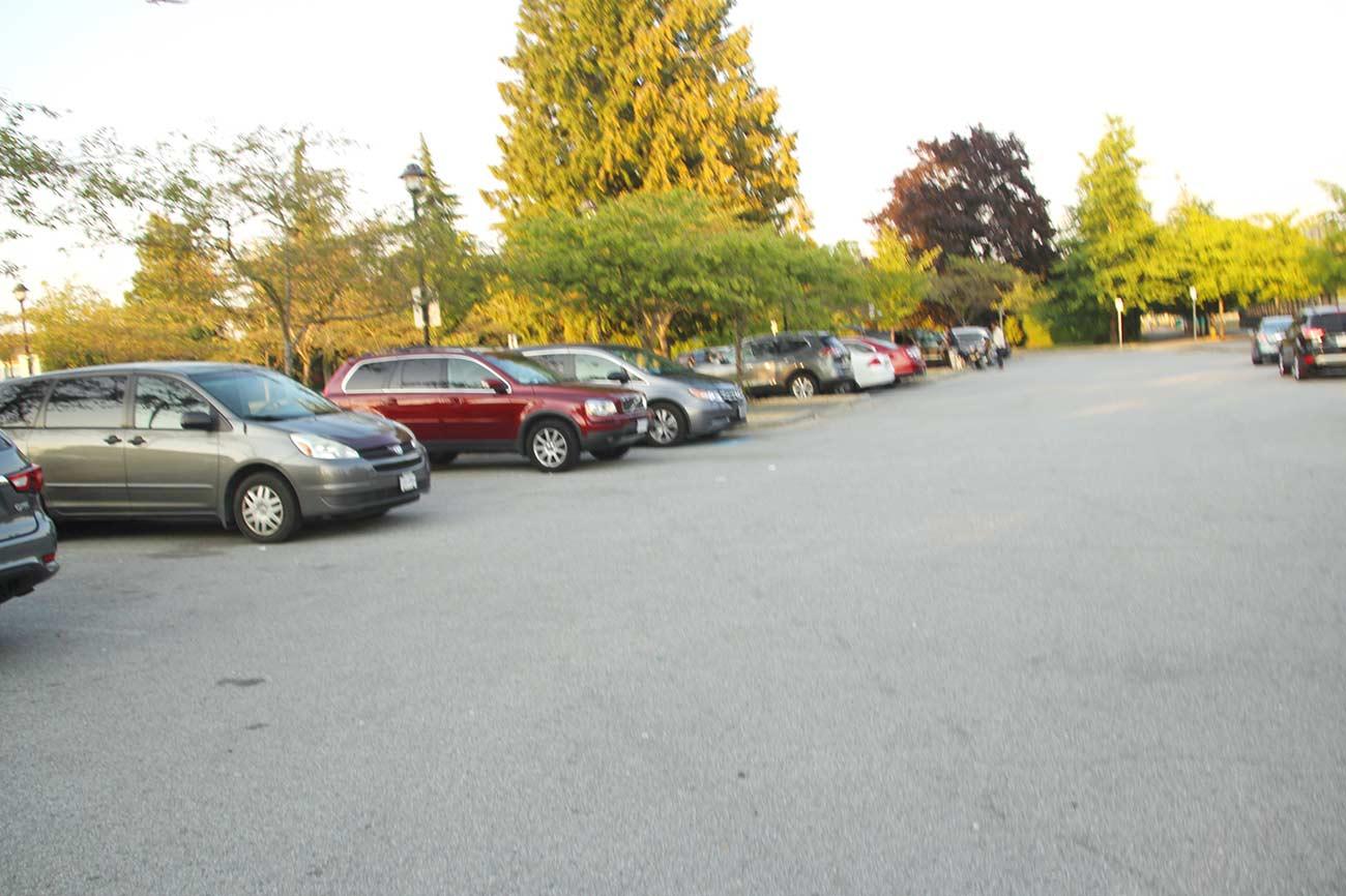 キング・ジョージ・パークの駐車場