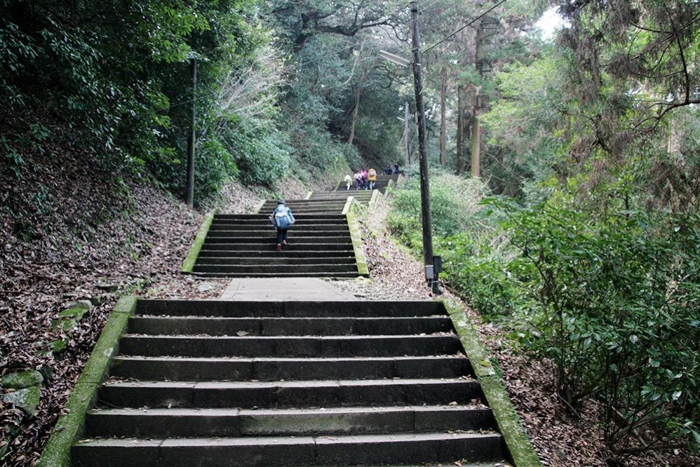 階段も多い