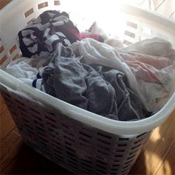 洗濯物干しは5分で! 時間短縮するためにはモチベーションが鍵です。