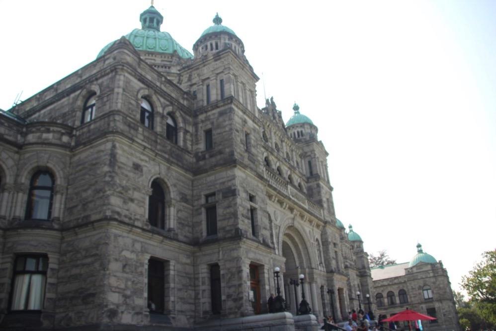 議事堂の建物が超美しい