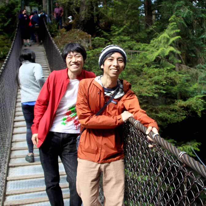 [カナダ] リン・キャニオン・パーク(Lynn Canyon Park)で森林と川に癒やされてきた