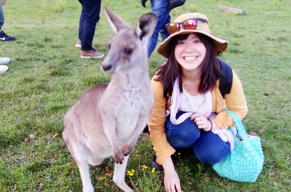 オーストラリア滞在のころの写真