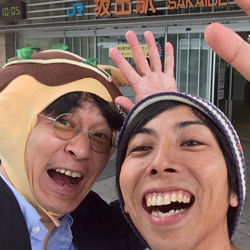 ブログ「ものくろぼっくす」の おおひがしさんが香川に遊びに来たよ!
