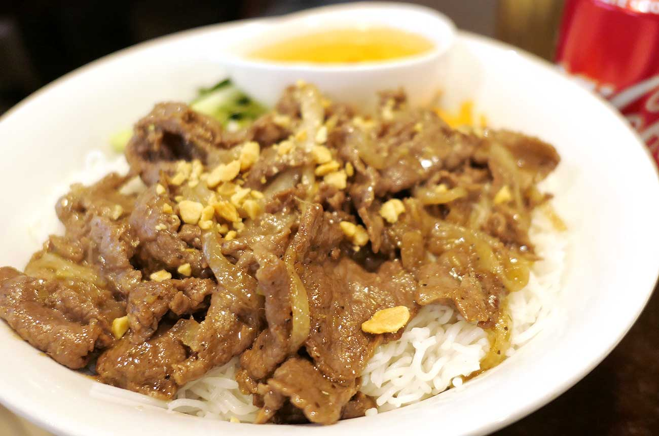 Bun Bo Xao(Pan-fried beef: 牛肉炒め)