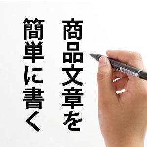 売れる商品文章は書けてます? 何も考えなくても簡単に文章を書く方法