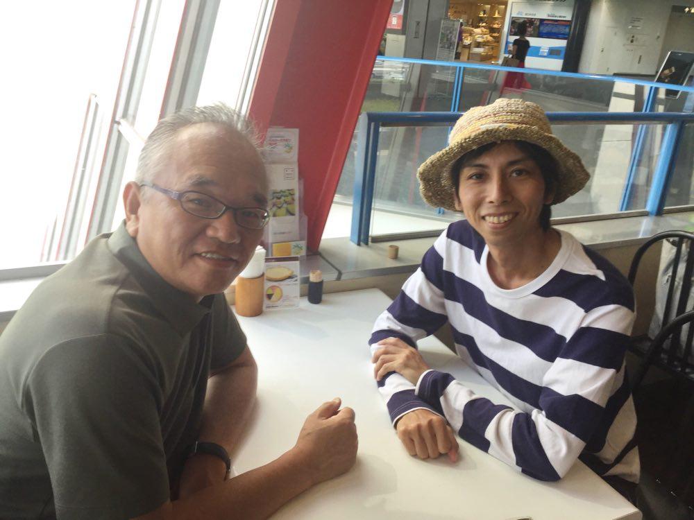 高松空港でよくお会いしています