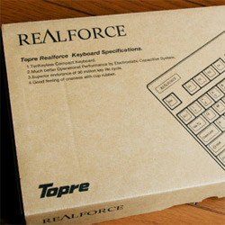 もっと早く買えば良かった! 東プレの高級キーボード「REALFORCE 91U」を買ったぞ!! | yossense