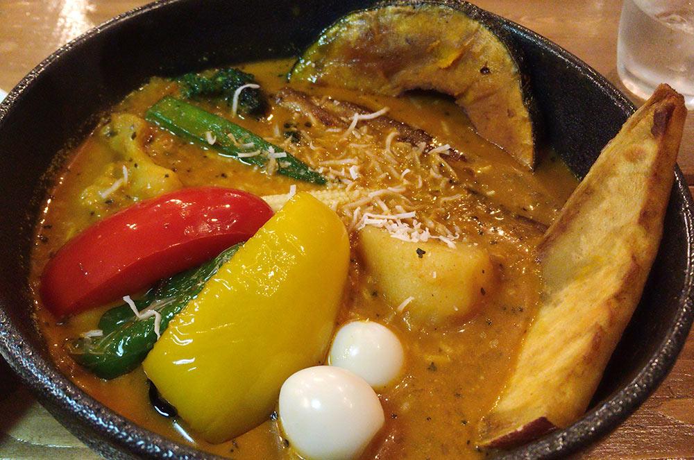 SAMA 川沿店のスープカレー