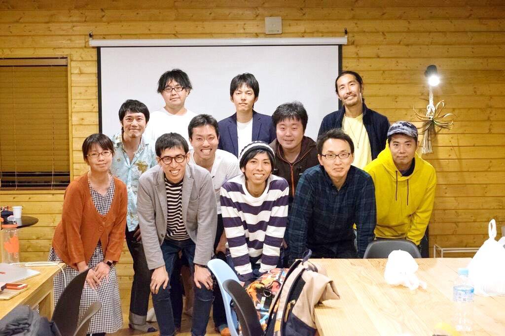 「まるも」で開催したヨッセンスクールの合宿での写真