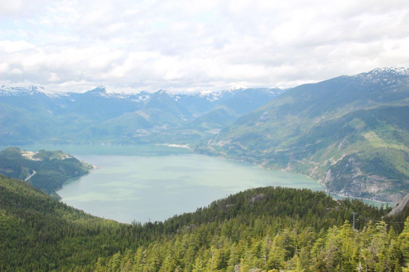 「Spirit Trail Viewing Platform」からの風景