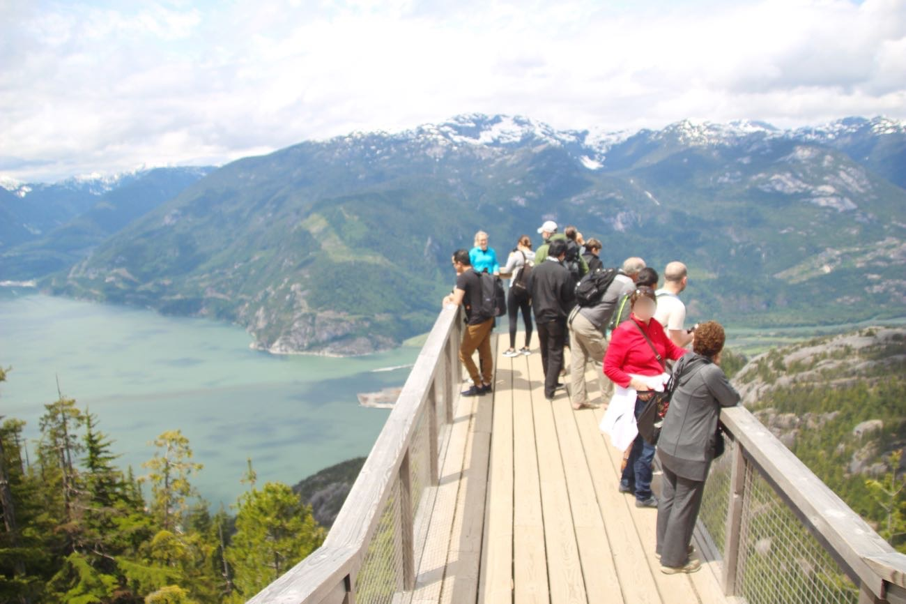 「The Chief & Squamish Valley Viewing Platform」についた