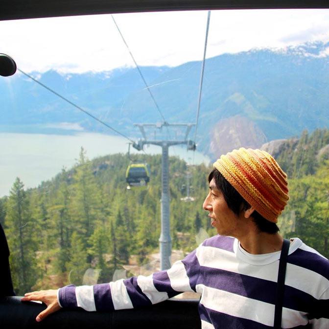 [カナダ]スコーミッシュの「Sea to Sky Gondola」に乗って山の上の散歩を楽しんできた!