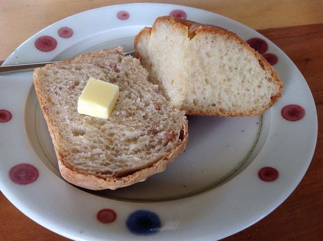 「汐さぎ!庵」のパン
