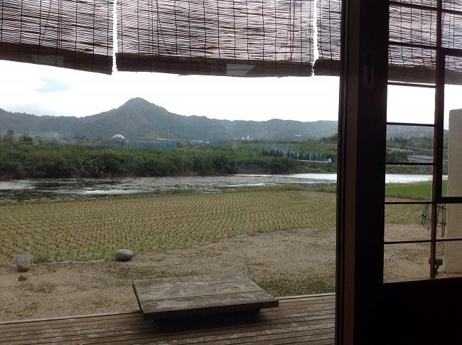 「汐さぎ!庵」からの景色