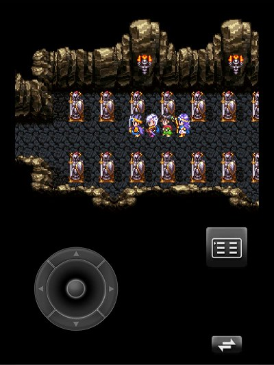 ネクロゴンドの洞窟の入り口あたり