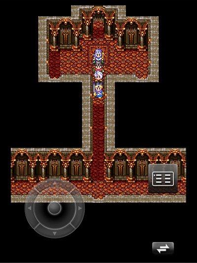 竜の女王の部屋の入り口