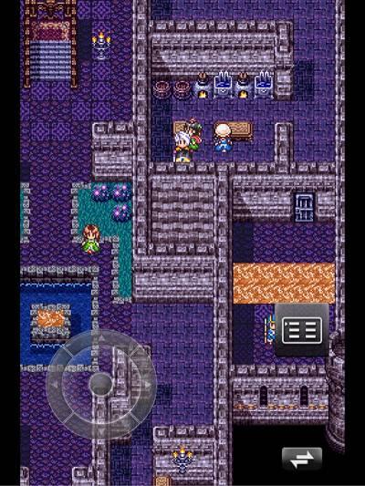 お城の台所に隠し部屋が。