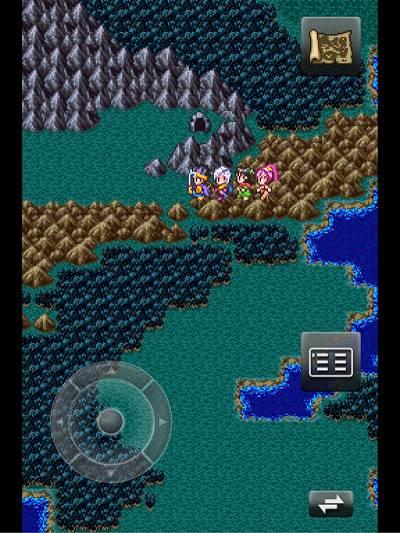 岩山の洞窟
