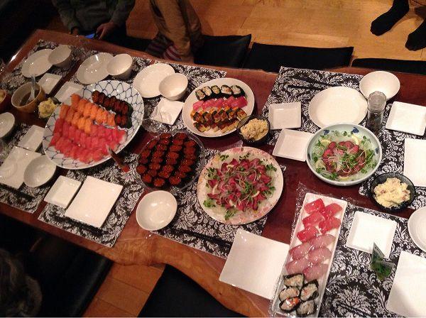 パーティーの食事