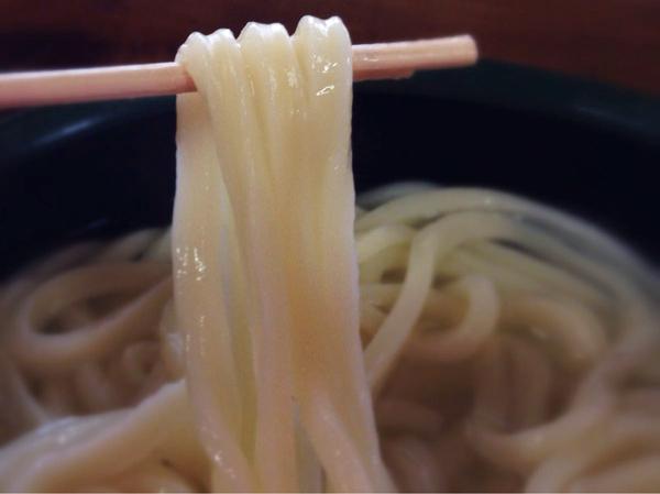 大釜うどんの麺