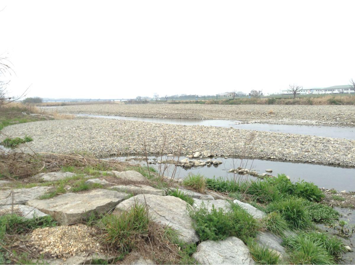 香川県の一級河川「土器川」