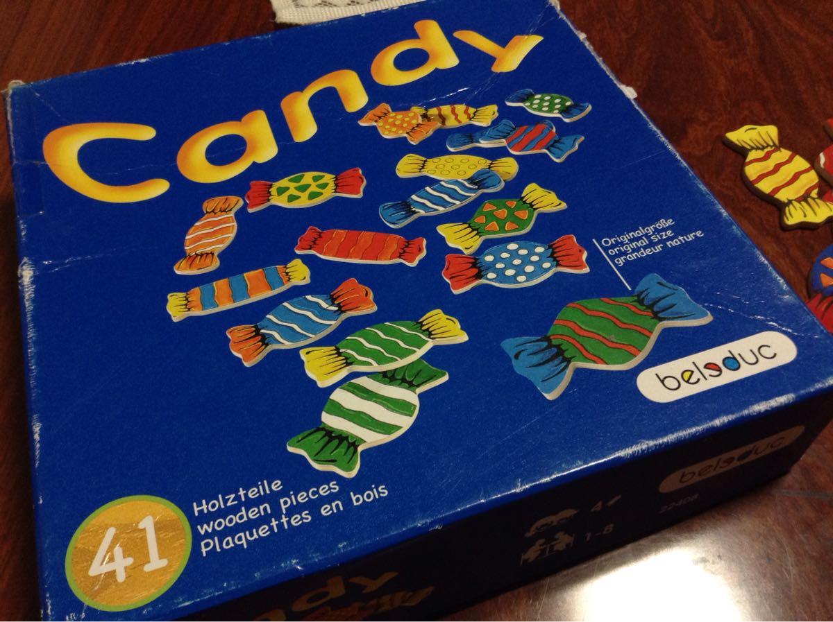 「キャンディーゲーム」のパッケージ