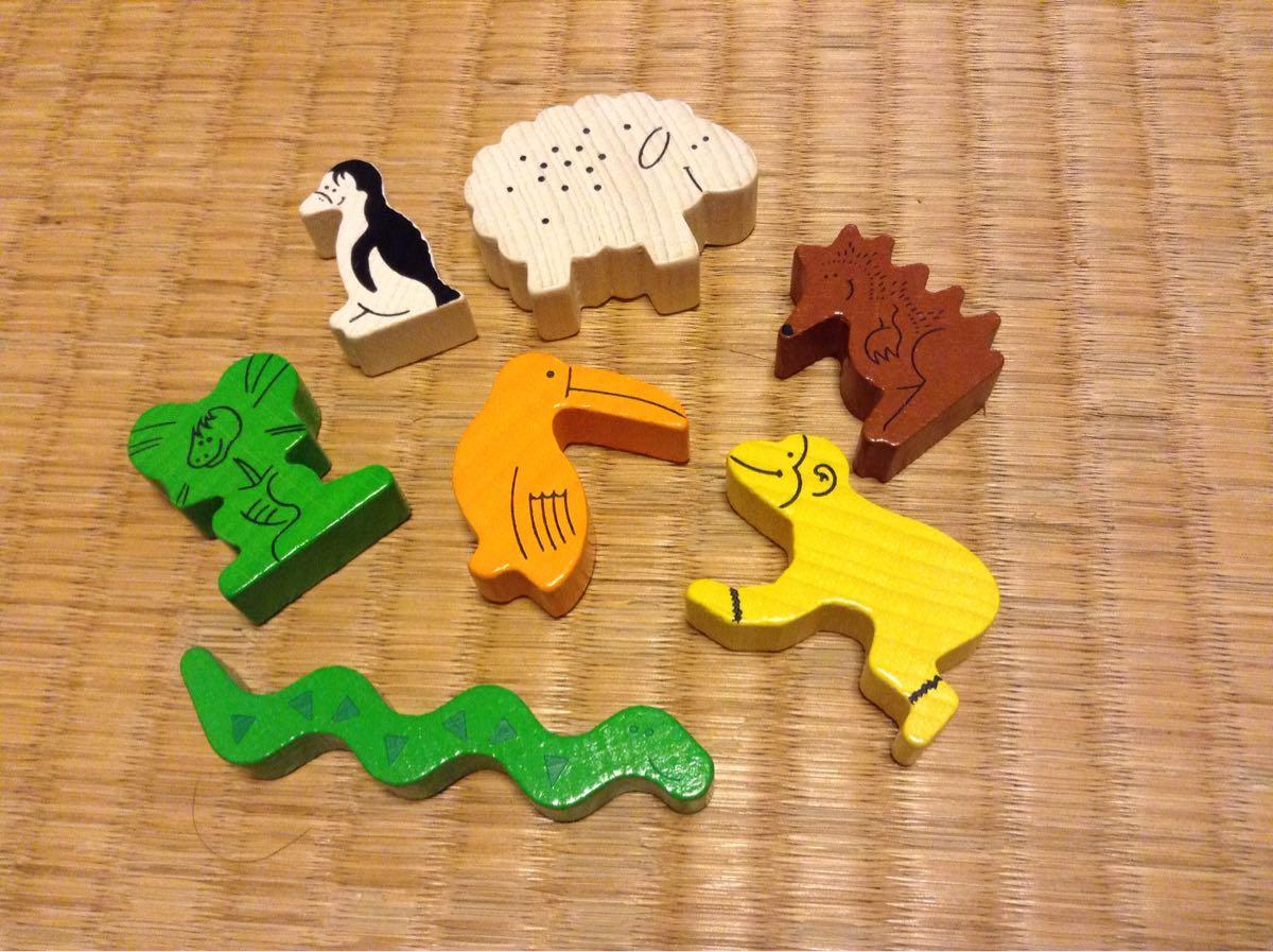 動物は7種類です