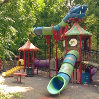 [香川県] 無料+大自然+大型遊具なら満濃池森林公園!夏場でも木陰で涼しいよ
