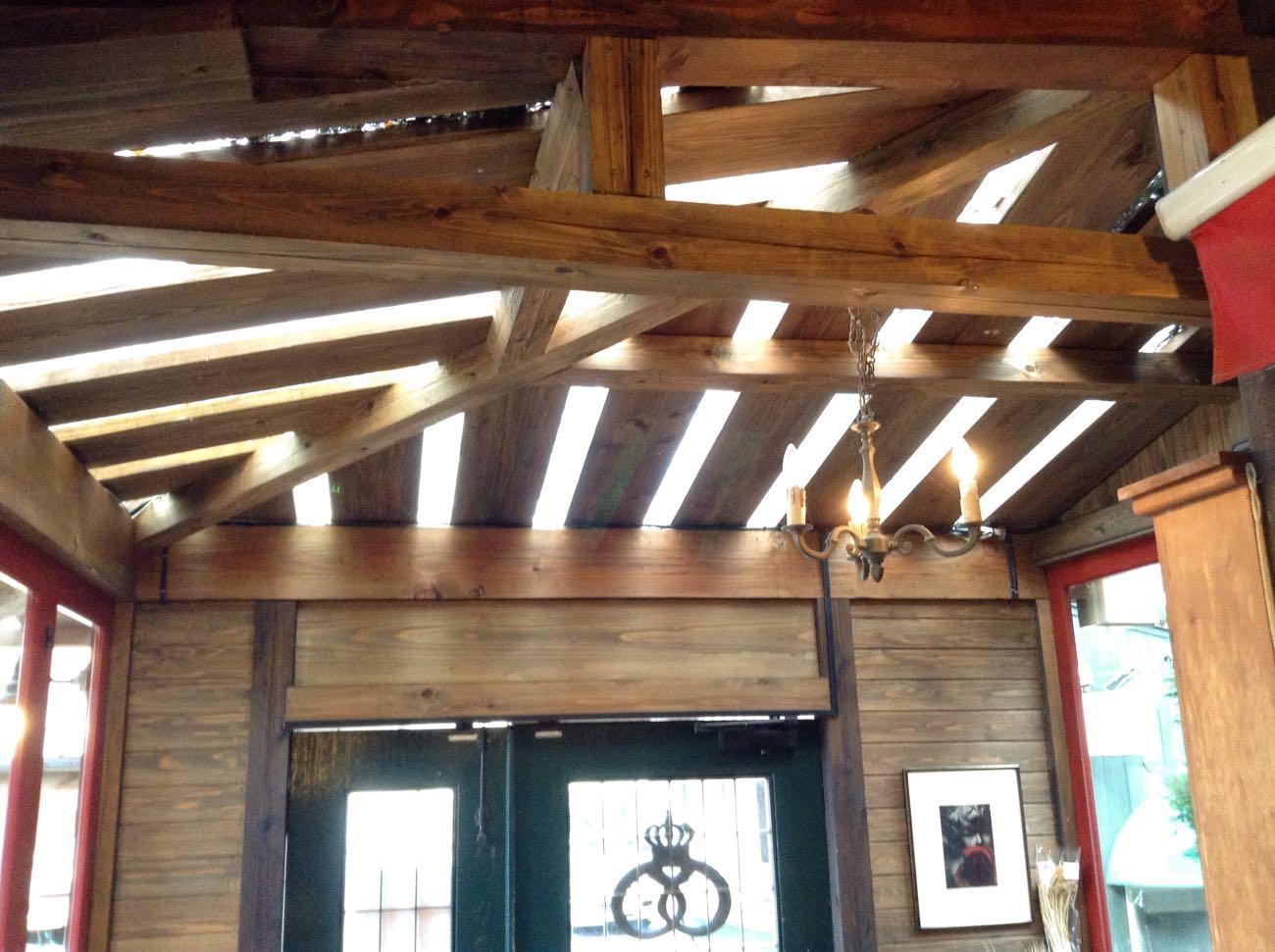 花月堂の天井