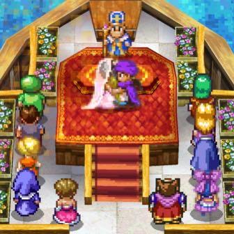 スマホ版ドラクエ5日記(19): ついに結婚! ビアンカごめん…デボラを選んじゃった