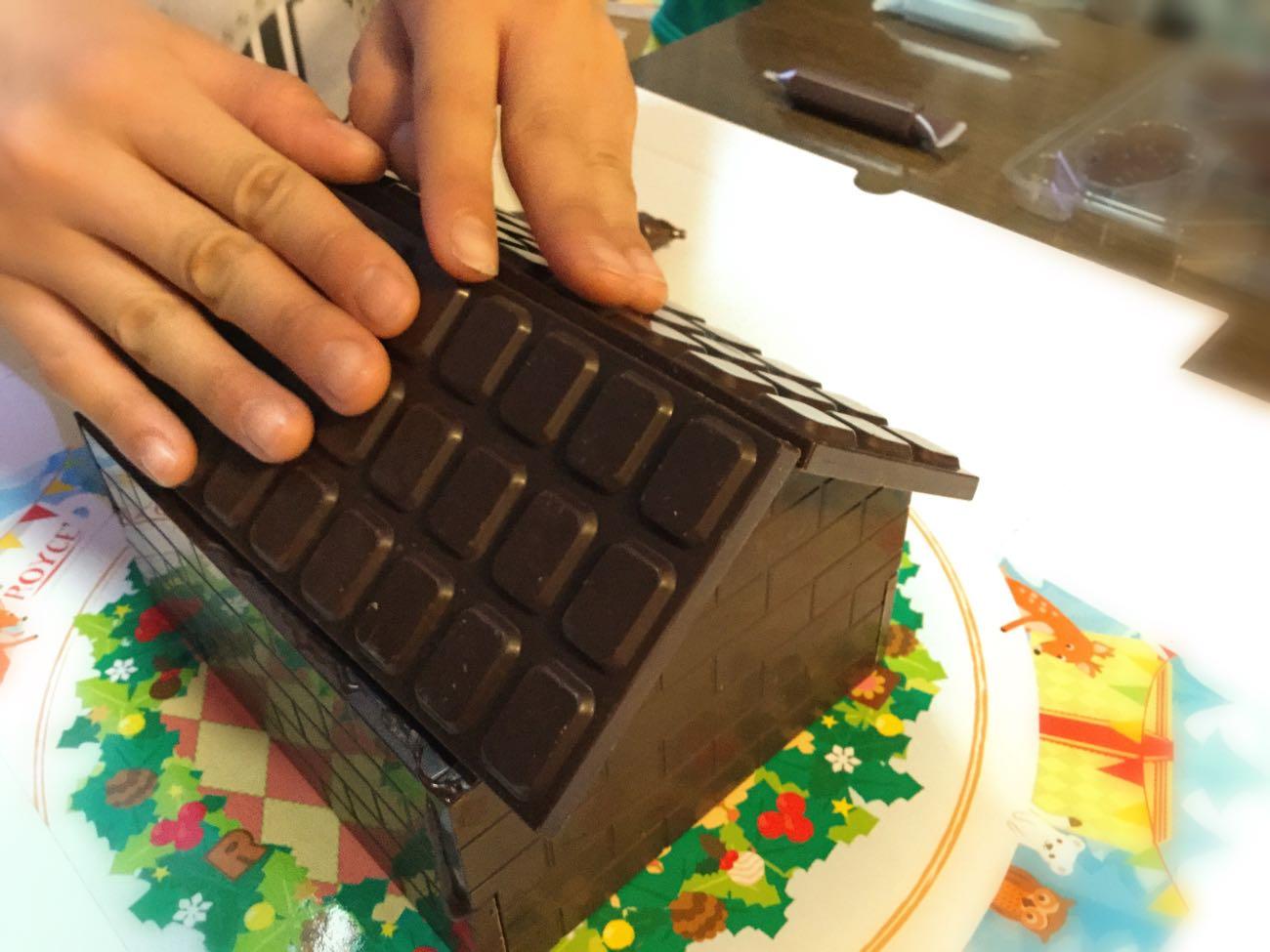 チョコレートの屋根
